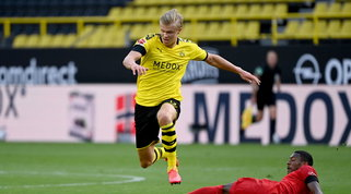 Dortmund in ansia per Haaland, si attendono gli esami al ginocchio