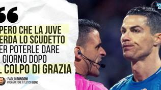 """Rongoni: """"Spero che la Juve perda lo scudetto, per poter dare noi il colpo di grazia"""""""