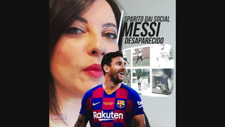 Messi sparisce dai social: è giallo