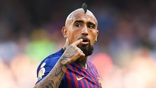 In videochat non c'è spazio per... Vidal: l'Inter lo esclude dai colloqui col Barça