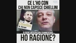 """Crosetti: """"Ce l'ho con chi non capisce Chiellini"""""""