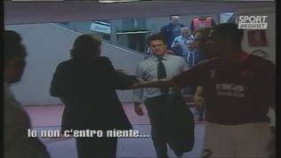 """Mancini a Capello: """"Sei un maleducato!"""""""