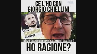 """Auriemma: """"Ce l'ho con Giorgio Chiellini"""""""