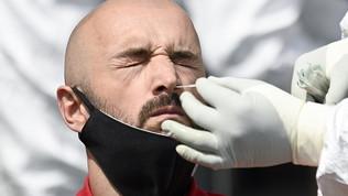 Kosovo, tampone in campo per arbitro e staff medico