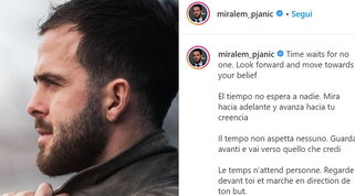 """Pjanic criptico con la Juve: """"Il tempo non aspetta nessuno"""""""