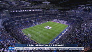 Il Real abbandona il Bernabeu
