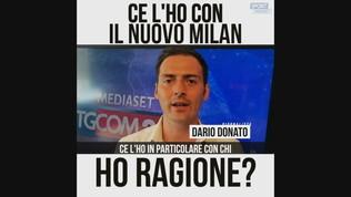"""Donato: """"Ce l'ho con il nuovo Milan"""""""