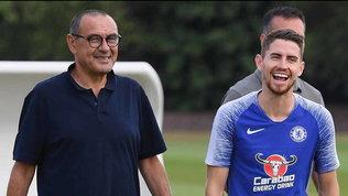 "Sarri, Jorginho è più lontano: ""Difficile la Juve possa prenderlo"""