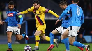"""""""Tifosi allo stadio nella fase 3"""": Barça-Napoli a porte aperte?"""