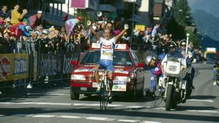 Accadde oggi: Pantani vince a Merano, inizia la leggenda del Pirata