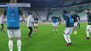 Juventus prove generali allo Stadium