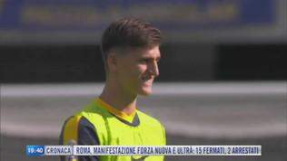 Inter-Juve, scontro per Kumbulla