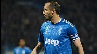 """Chiellini: """"Nel 2012 abbiamo tifato Inter, come eravamo ridotti..."""""""