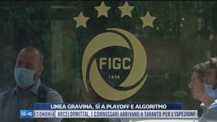 Figc: sì a playoff e algoritmo