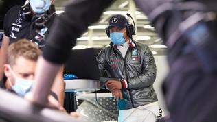 Mercedes, test casalingo in vista del ritorno della F1