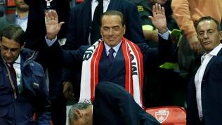 """Berlusconi: """"Ibra e Kakà erano obiettivi veri, nel calcio non si sa mai...."""""""