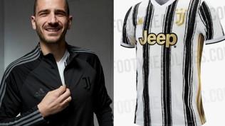 """Lo """"spoiler"""" di Bonucci conferma le anticipazioni sulla nuova maglia"""