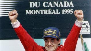 Alesi, 25 anni fa il compleanno più bello: vittoria in Ferrari