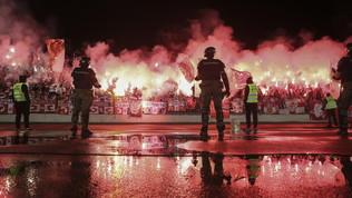 Partizan-Stella Rossa, solito derby di fuoco senza distanziamento