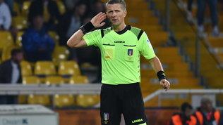 Orsato arbitra Juve-Milan, c'è Rocchi per Napoli-Inter