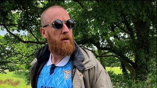 Wiggins tifa Lazio:a passeggio con la maglia di Gascoigne