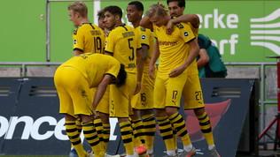 Haaland rimanda la festa per l'ottavo titolo in fila del Bayern