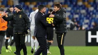 Gattuso-Conte per raggiungere la Juve in finale | Napoli-Inter 0-0LIVE