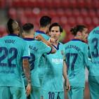 Liga: poker del Barcellona a Maiorca e Real Madrid a -5