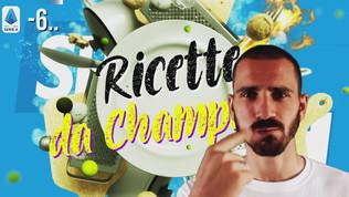 Ricette da Champions: il consiglio di Bonucci