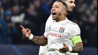 Attenta Juve, il Lione recupera Depay per la ChampionsLeague