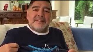 """Maradona omaggia Mertens: """"Orgoglioso di te, ora un altro scudetto!"""""""