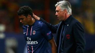 Dal Psg all'Everton: Thiago Silva vuole ritrovare Ancelotti