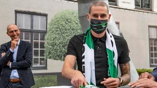 Cercle Brugge, nuovo contratto al portiere colpito tre volte dalla leucemia