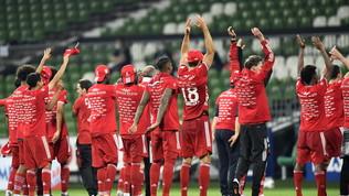 Bayern, la festa scudetto nel post Covid-19