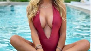 Michela Persico, gravidanza sexy