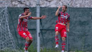 Serie B, Ascoli-Cremonese 1-3: le foto del match