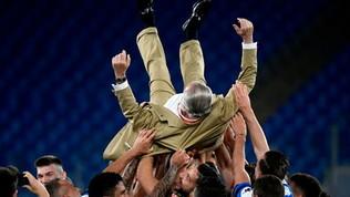 """Napoli, orgoglio De Laurentiis: """"Gli unici che battono la Juve"""""""