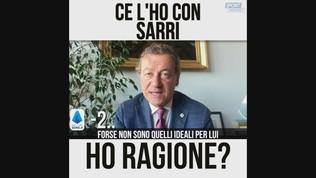 """Sabatini: """"Ce l'ho con Sarri"""""""