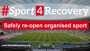 """#Sport4Recovery: """"Riapertura in sicurezza dello sport organizzato"""""""