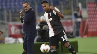 Juve, Sarri perde i pezzi: ko Alex Sandro e Khedira