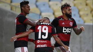 Anche in Sudamerica si torna in campo:il Flamengo riparte con una vittoria