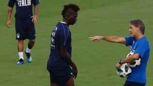 """Mancini: """"Spero ancora in Balo. Sarri e Conte, critiche ingenerose"""""""