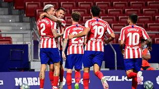 Vitolo-gol, l'Atletico Madrid aggancia il terzo posto | Il Getaferallenta