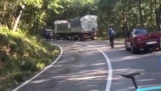 """Zanardi, la disperazione del camionista: """"L'ho visto sbandare e cadere, sono distrutto dal dolore"""""""