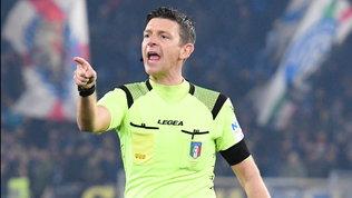 Arbitri: Rocchi perBologna-Juve, a Valeri Lecce-Milan