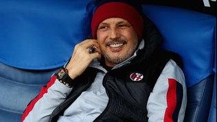 """Mihajlovic: """"Se battiamo la Juve dedica a Gazzoni e Zanardi"""""""
