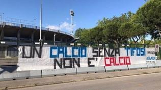 """Curva Nord contro la ripresa:""""Un calcio senza tifosi non ècalcio"""""""
