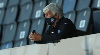 Una giornata di squalifica per Gasperini, in tribuna contro la Lazio