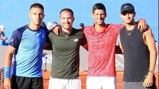 Trema il tennis: dopo Dimitrov, positivi ancheCoric e Troicki | Djokovic fa il test