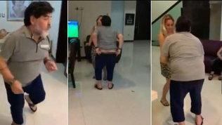 Maradona e il ballo incriminato: il video risale a un anno e mezzo fa